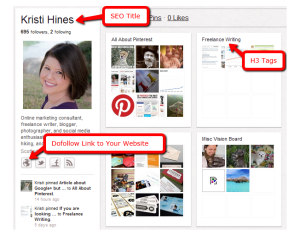 Pinterest Profile | Pinterest SEO