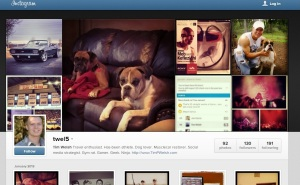 Instagram Web Profile | Tim Welsh
